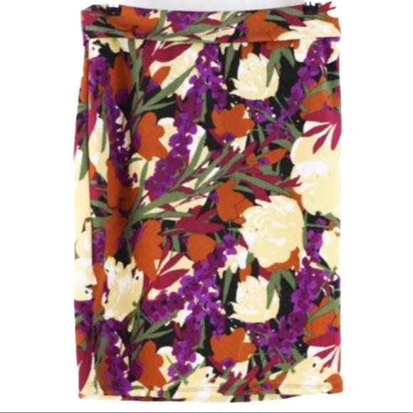 LuLaRoe Dresses & Skirts - 🔴4 FOR $30🔴LuLaRoe Floral Print Cassie Skirt